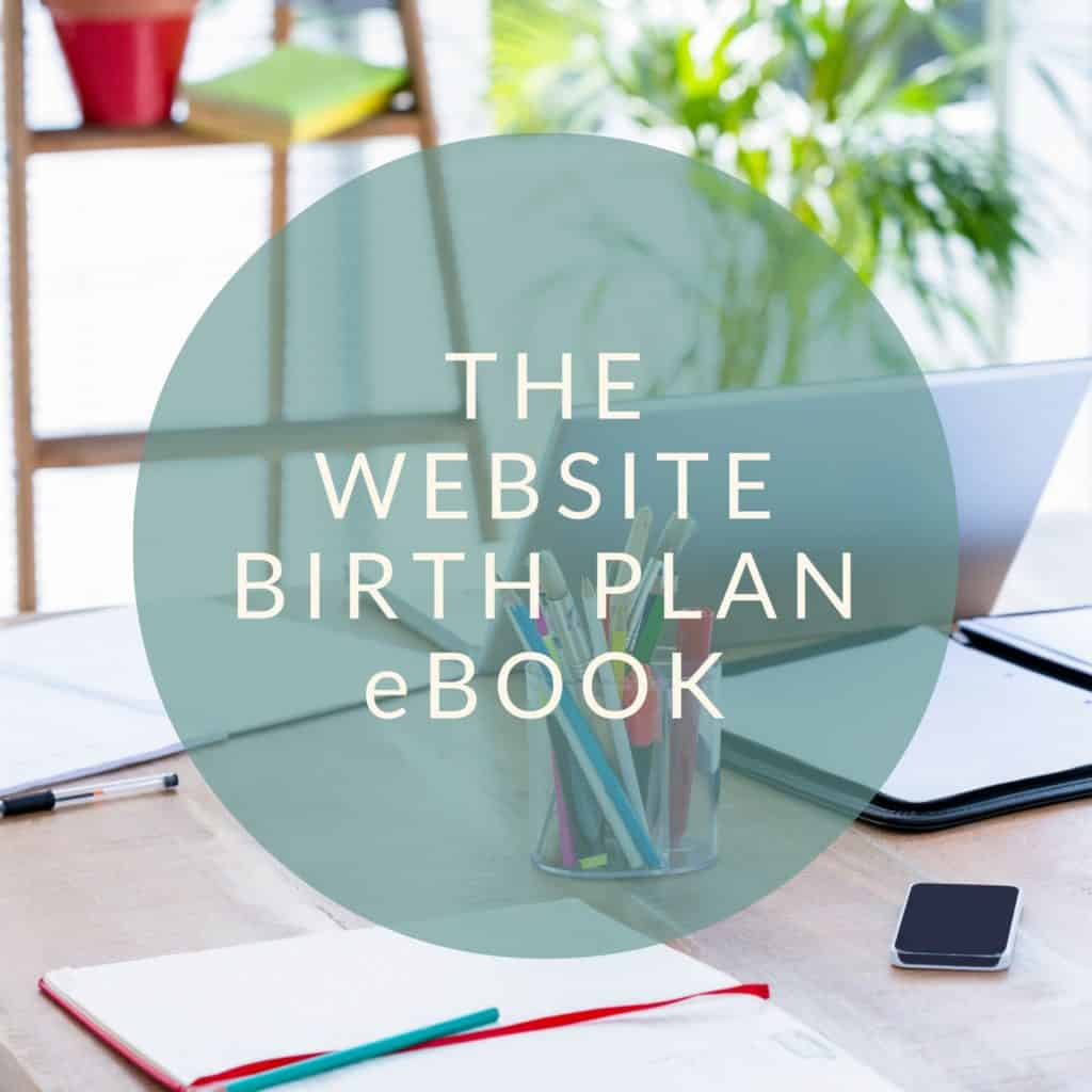 doula website ebook
