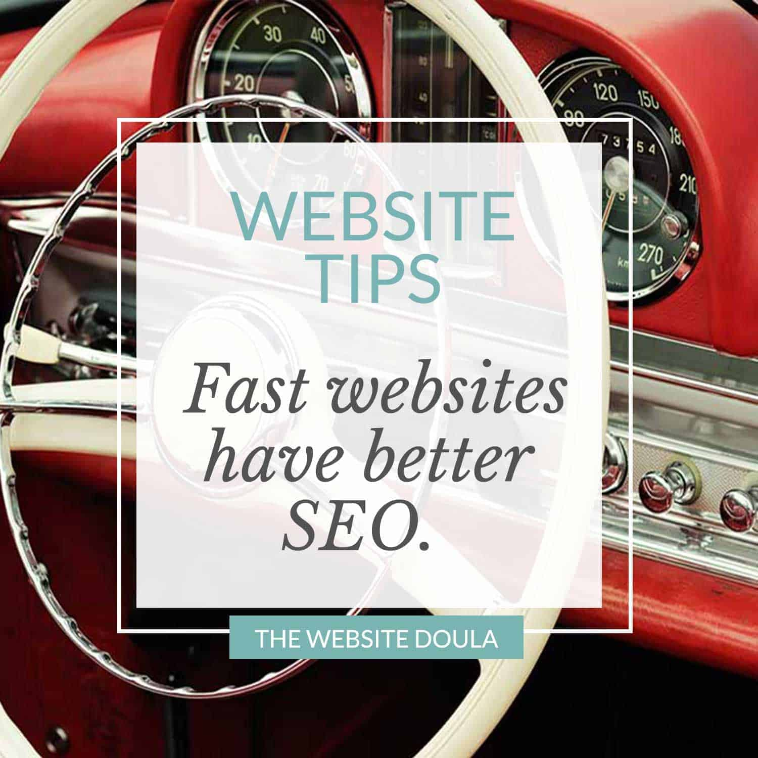 website speed and SEO