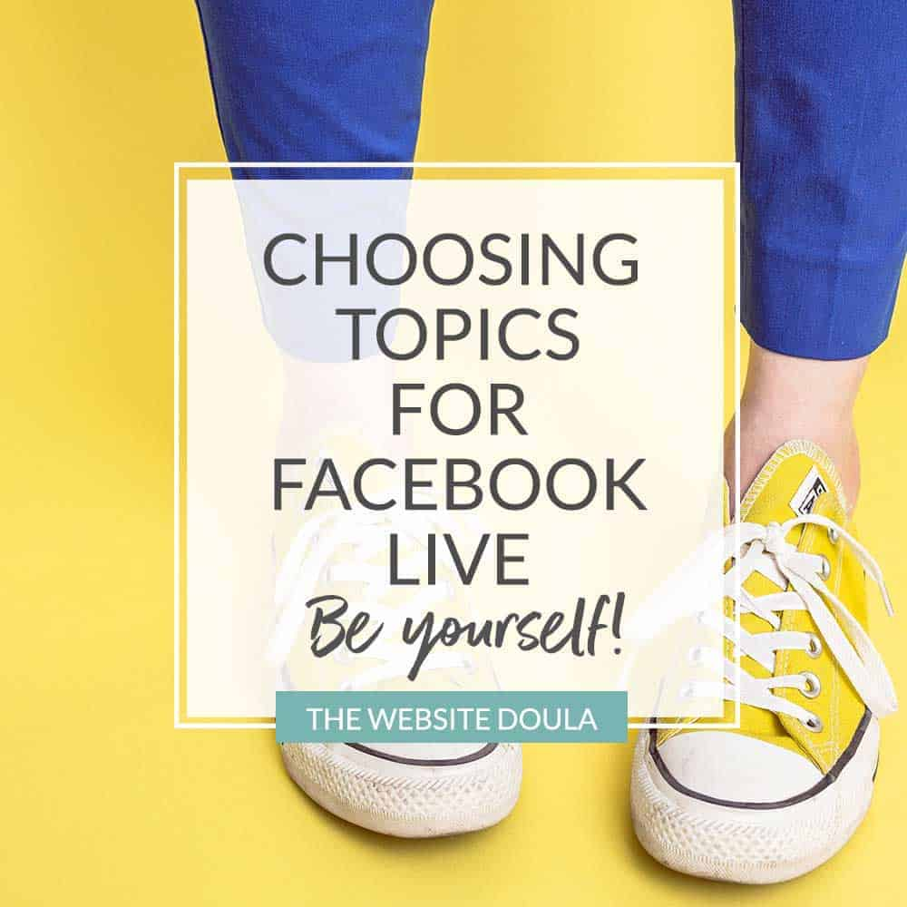 facebook live topics doulas