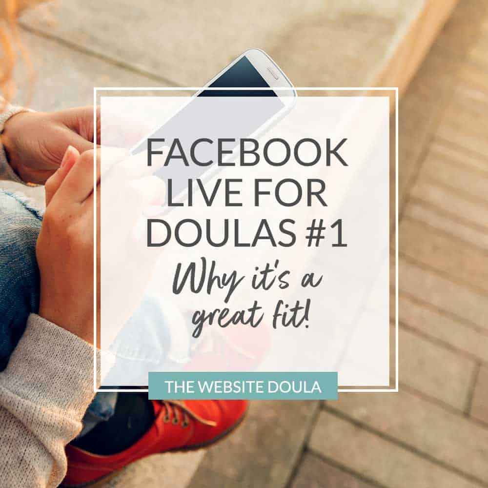 facebook live for doulas