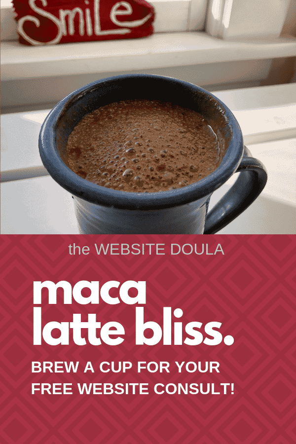 Maca Latte BLiss
