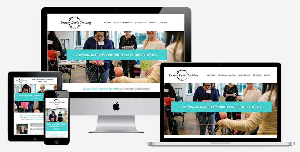 Doula Training Website