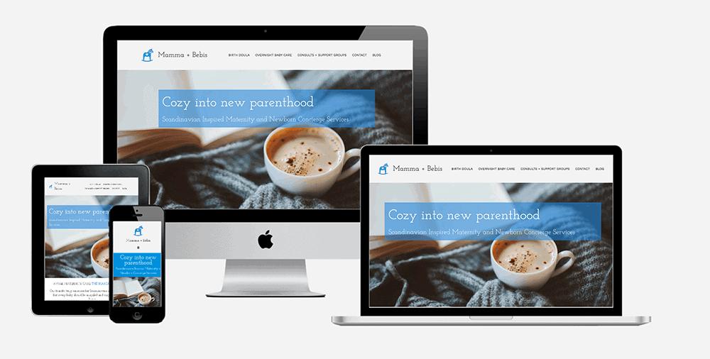 Postpartum Doula Website