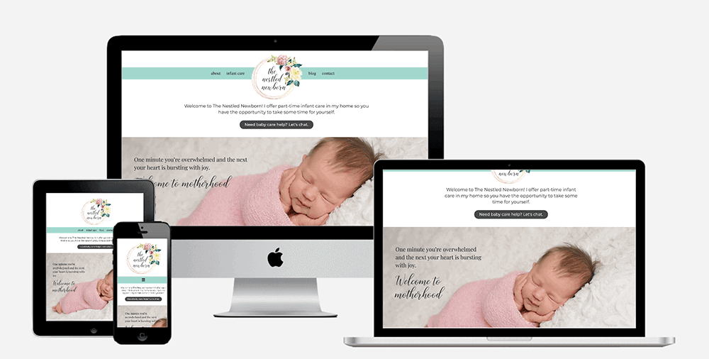 Postpartum Newborn Care Website