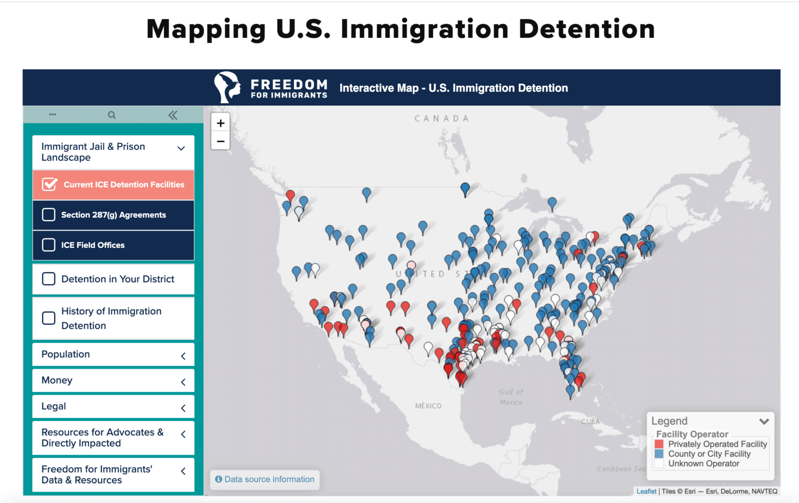 Detention Centers USA