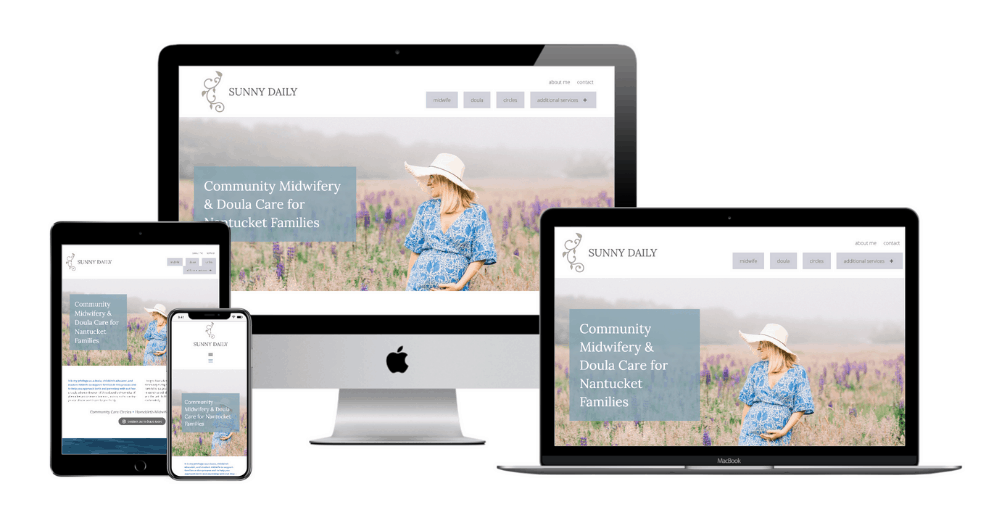 Community Midwife Web Design