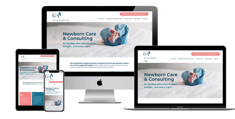 Infant Sleep Specialists Website