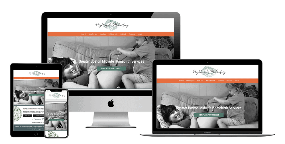 Midwifery Website Design