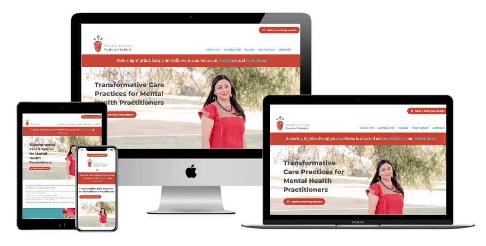 Counseling Website Design