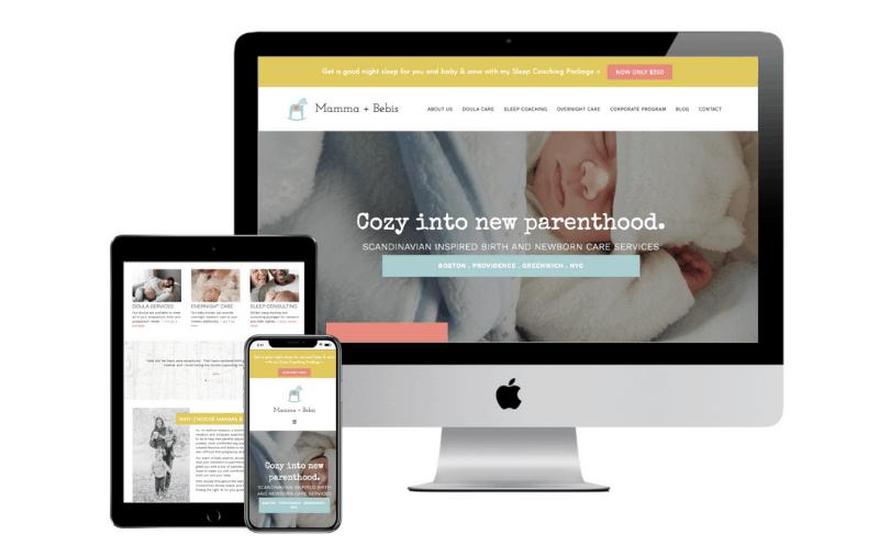postpartum doula agency website