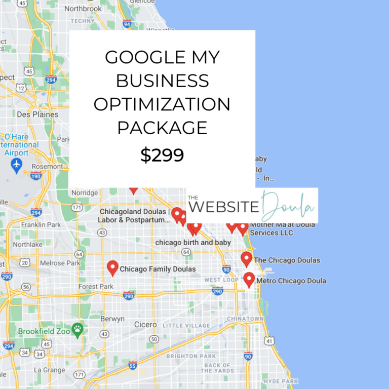 GOOGLE MY BUSINESS OPTIMIZATION PACKAGE