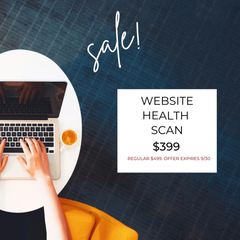 WEBSITE HEALTH SCAN