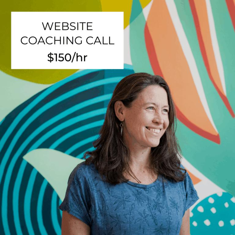 Website Coaching Call