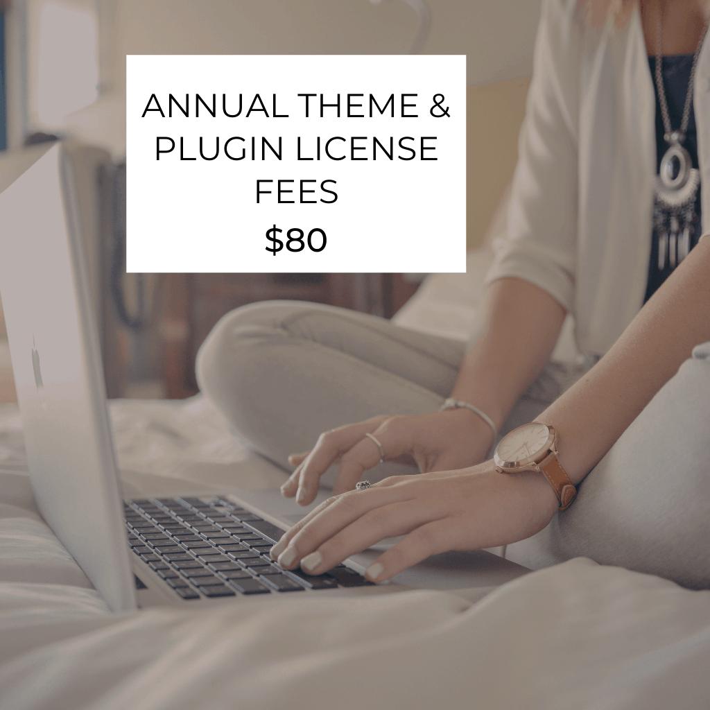 annual license fees